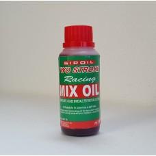 OLIO 2T MISCELA MIX OIL 2T ROSSO X MOTOSEGA DECESPUGLIATORE DA 100 ML