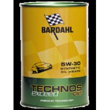 Bardahl TECHNOS C60 5W30 EXCEED LT 1